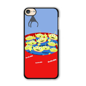 Toy Strory Geen Alien Happy With Claw Toy iPod Touch 6 Case