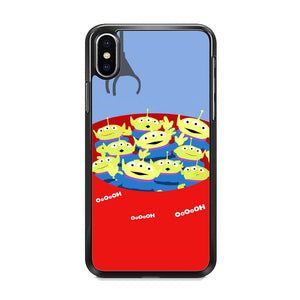 Toy Strory Geen Alien Happy With Claw Toy iPhone XS Case
