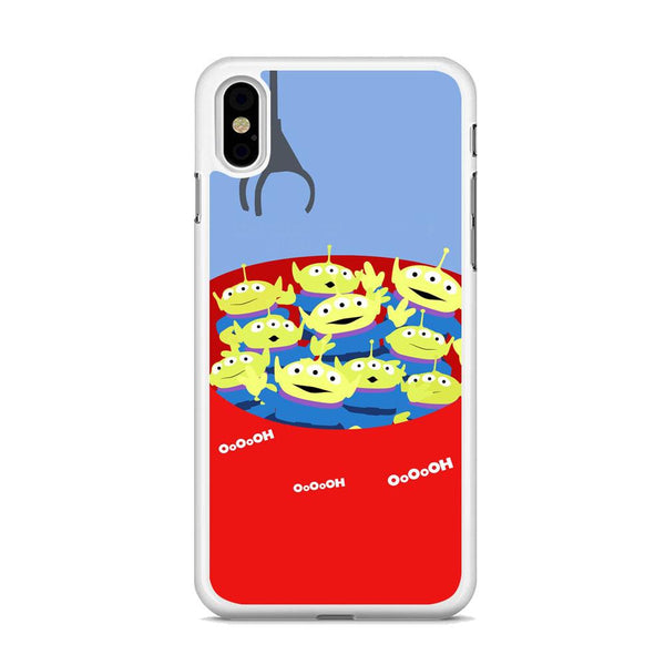 Toy Strory Geen Alien Happy With Claw Toy iPhone XS MAX Case