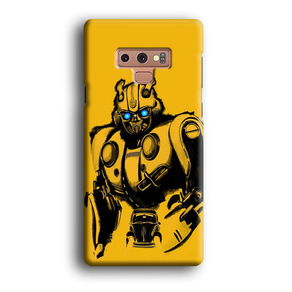 Transformers Bumblebee Yellow Samsung Galaxy Note 9 Case