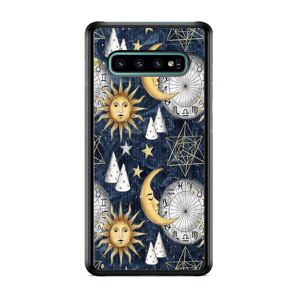 Universe Astrologic Code Samsung Galaxy S10 Plus Case