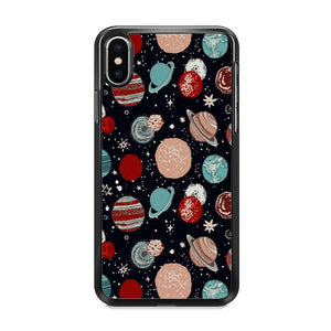 Universe Colorfull Planets iPhone XS Case