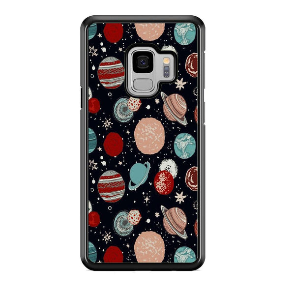 Universe Colorfull Planets Samsung Galaxy S9 Case