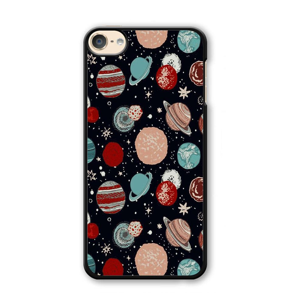 Universe Colorfull Planets iPod Touch 6 Case