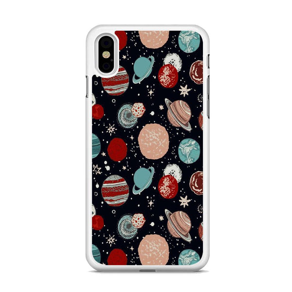 Universe Colorfull Planets iPhone XS MAX Case