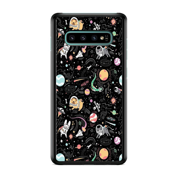 Universe Pets Playing Space Samsung Galaxy S10 Plus Case