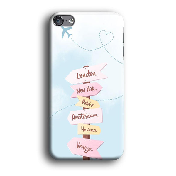 Vacation On The Way iPod Touch 6 Case
