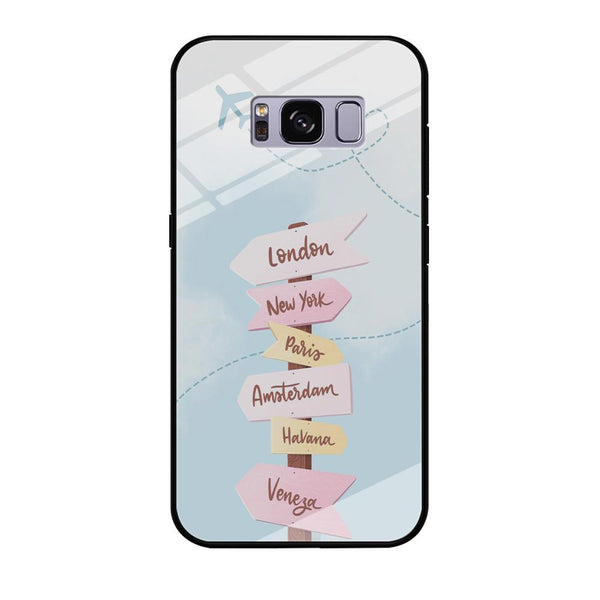 Vacation On The Way Samsung Galaxy S8 Case