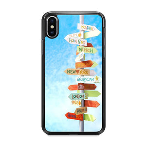 Vacation To The Next Destination iPhone XS MAX Case
