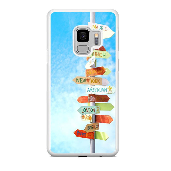 Vacation To The Next Destination Samsung Galaxy S9 Case