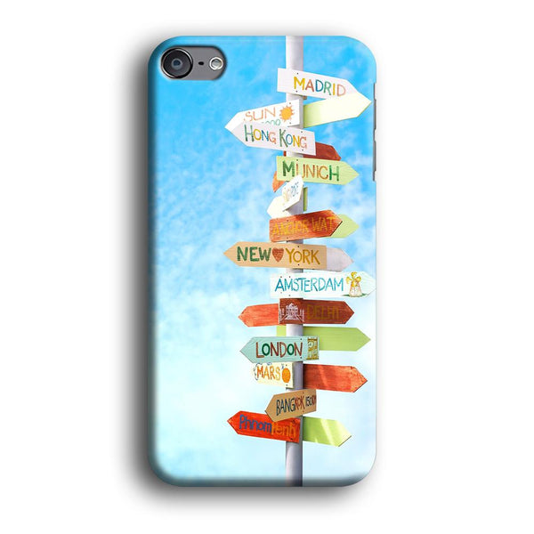 Vacation To The Next Destination iPod Touch 6 Case