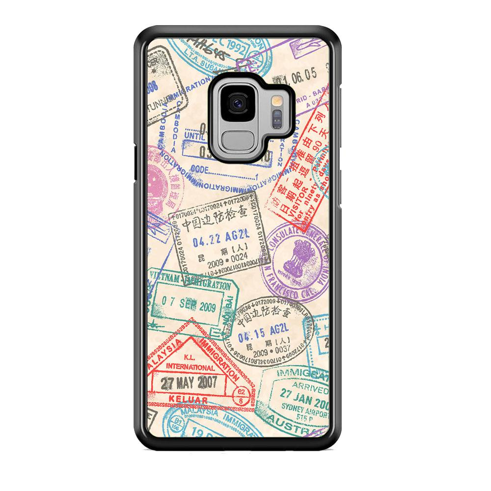 Vacation Visiting List Samsung Galaxy S9 Case