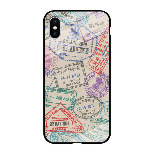 Vacation Visiting List iPhone XS Case