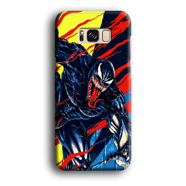 Venom Black In Action Samsung Galaxy S8 Case