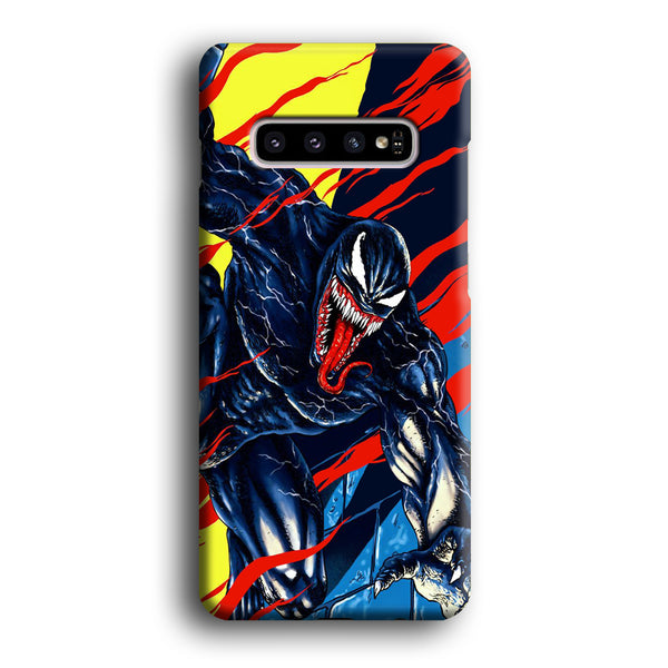 Venom Black In Action Samsung Galaxy S10 Case