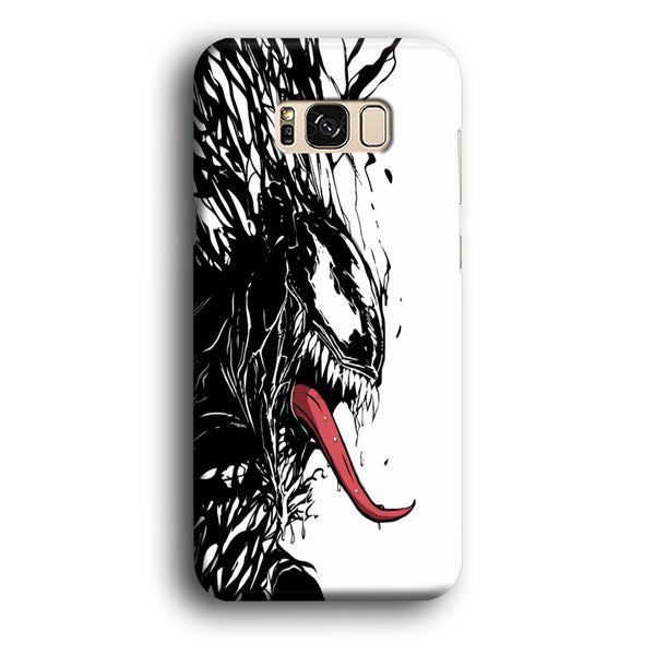 Venom White And Black Samsung Galaxy S8 Case
