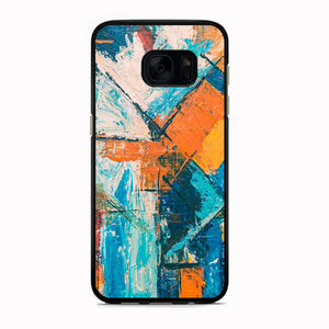 Viscous Paint Abstract Colour Samsung Galaxy S7 Edge Case