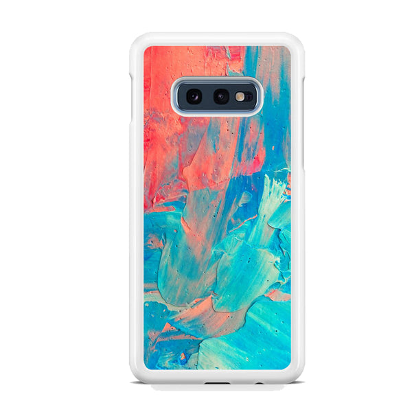 Viscous Paint Colour Blue Red Samsung Galaxy S10E Case