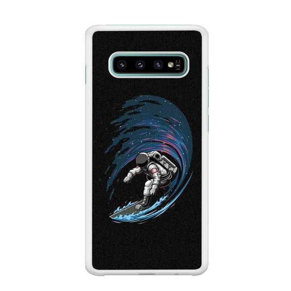 Wave In Space Samsung Galaxy S10 Case