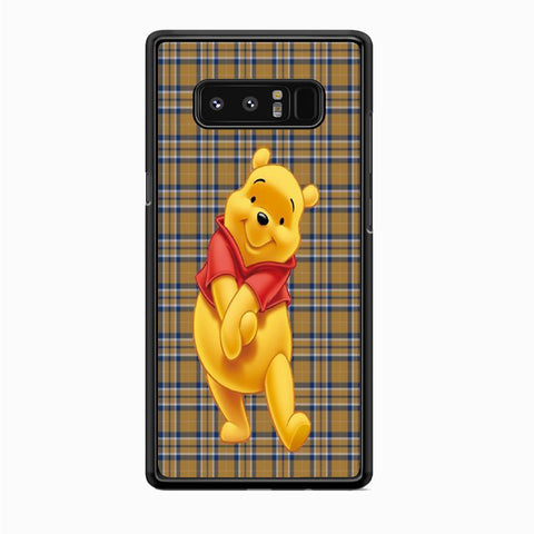 Winnie The Pooh Flannel Wall Samsung Galaxy Note 8 Case