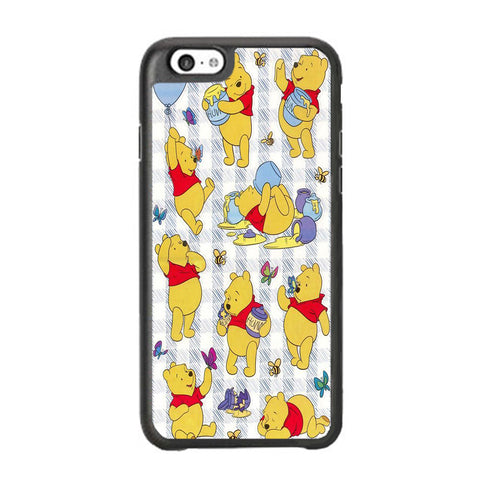 Winnie The Pooh Flannel Wallpaper iPhone 6 Plus | 6s Plus Case