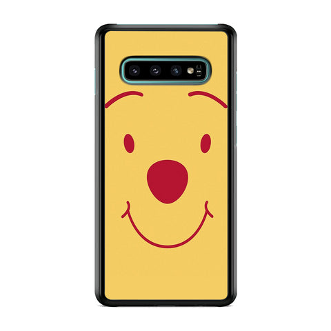 Winnie The Pooh Smile Face Samsung Galaxy S10 Case