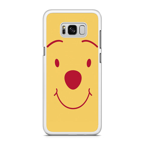 Winnie The Pooh Smile Face Samsung Galaxy S8 Plus Case