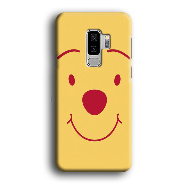 Winnie The Pooh Smile Face Samsung Galaxy S9 Plus Case