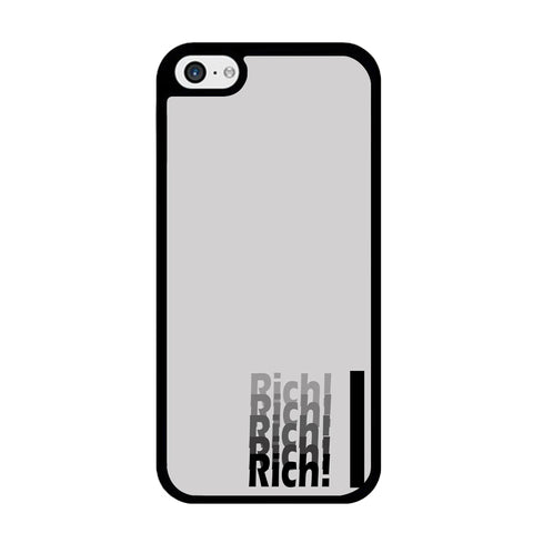 Word Rich Grey iPhone 5 | 5s Case