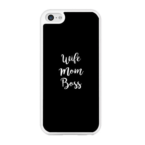Word Wife Mom Boss iPhone 5 | 5s Case