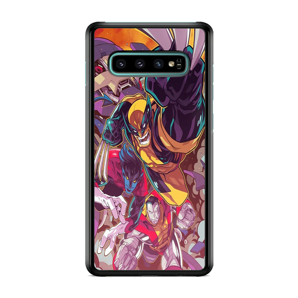 X Men Battle Team Samsung Galaxy S10 Case