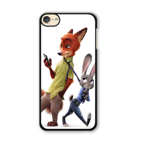 Zootopia Nick judy Partner iPod Touch 6 Case