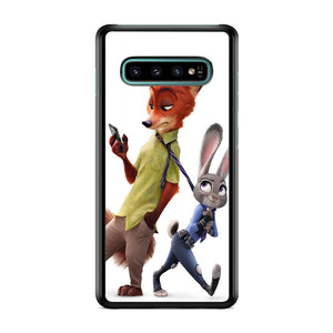 Zootopia Nick judy Partner Samsung Galaxy S10 Case