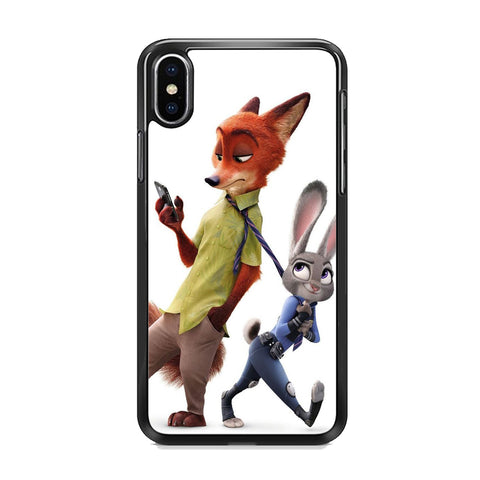 Zootopia Nick judy Partner iPhone XS MAX Case