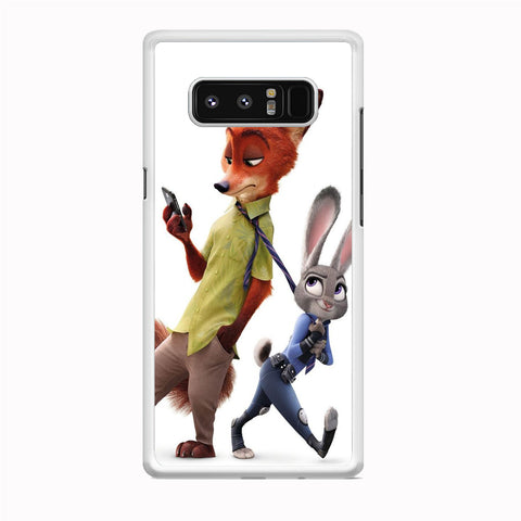 Zootopia Nick judy Partner Samsung Galaxy Note 8 Case