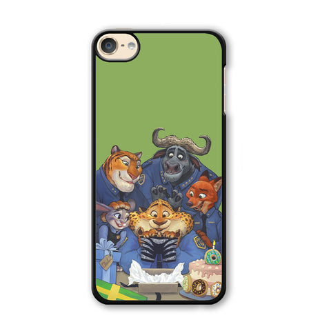 Zootopia Police Team iPod Touch 6 Case