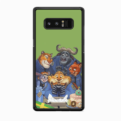 Zootopia Police Team Samsung Galaxy Note 8 Case