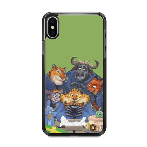 Zootopia Police Team iPhone XS MAX Case