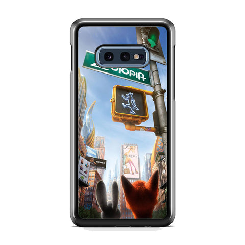 Zootopia Traffic Light Samsung Galaxy S10E Case