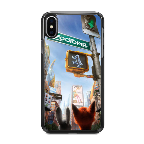 Zootopia Traffic Light iPhone XS Case