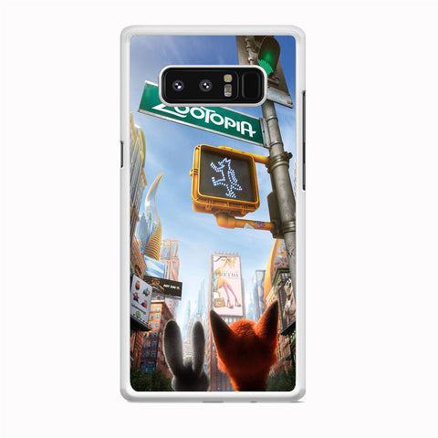 Zootopia Traffic Light Samsung Galaxy Note 8 Case