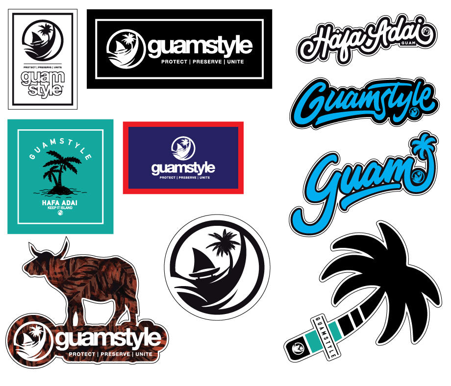 Guamstyle Sticker Pack
