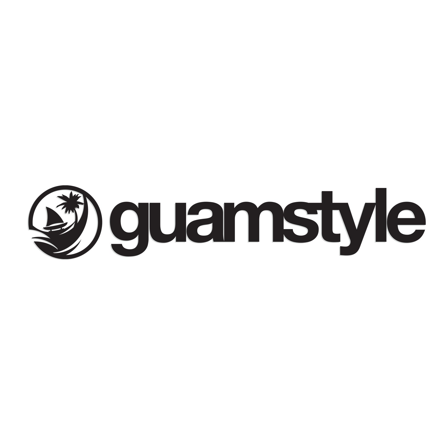 Guamstyle Black Decal