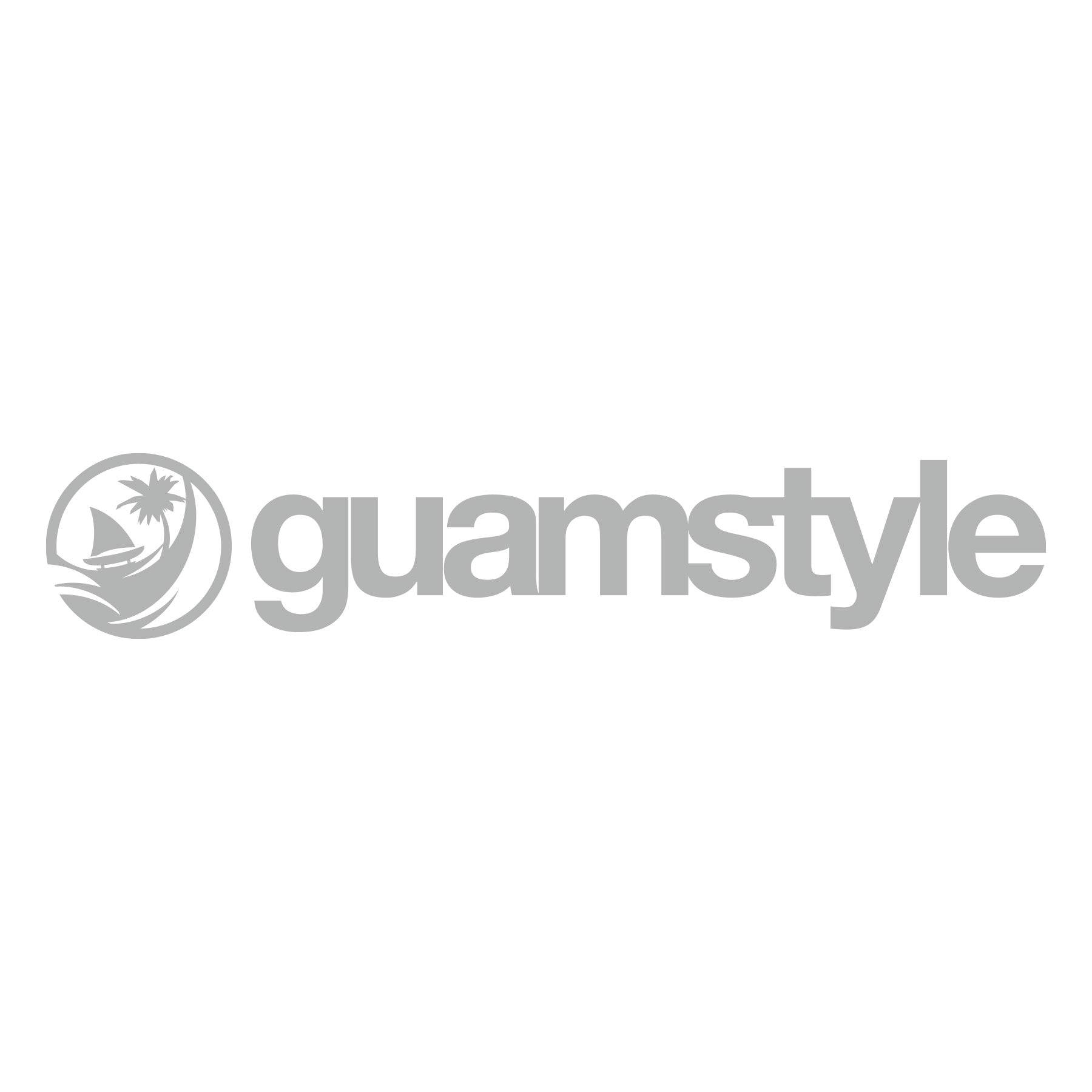 Guamstyle Silver Decal