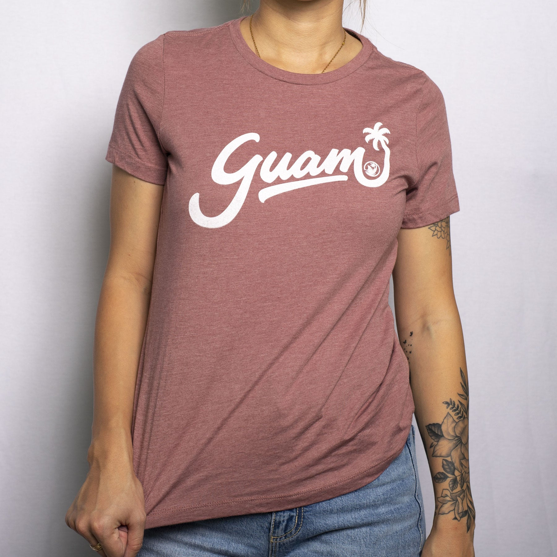Guam Script Relaxed Tee by Guamstyle