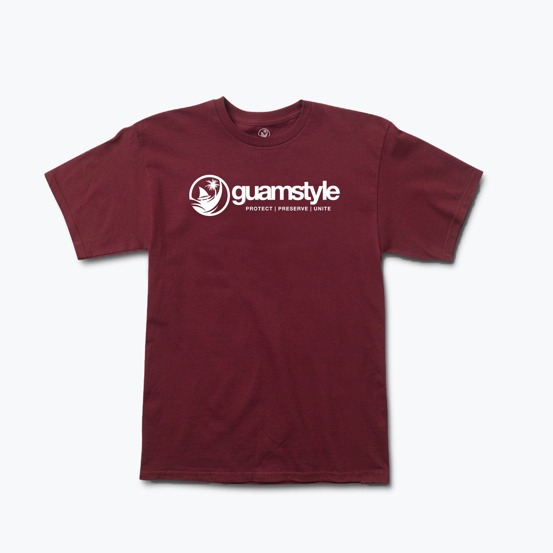 Original Logo Tee by Guamstyle