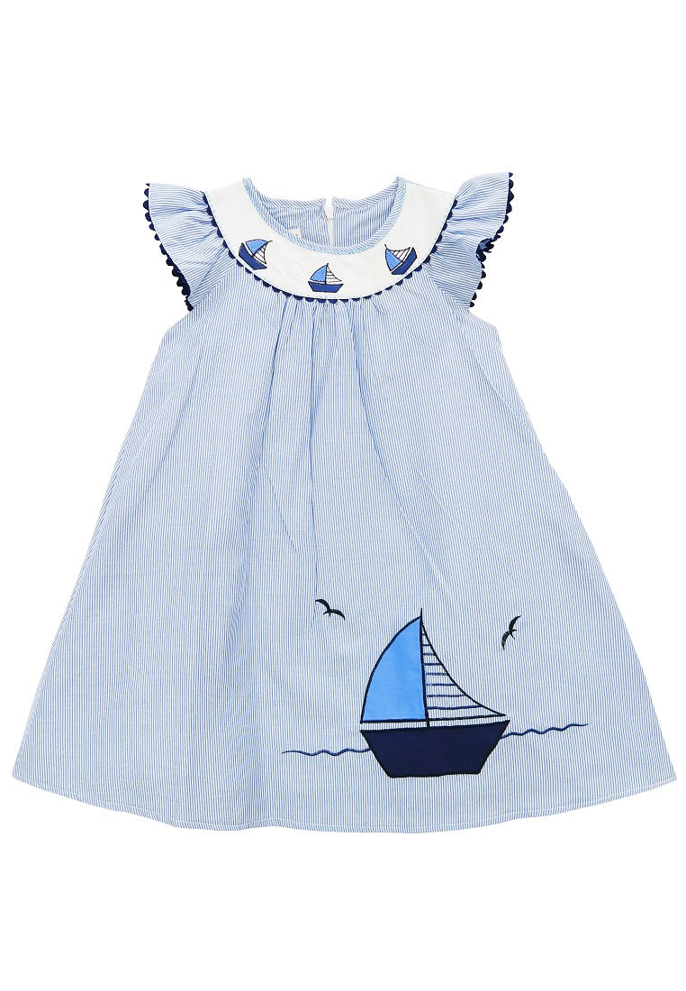 Sally Cotton Sailor Dress
