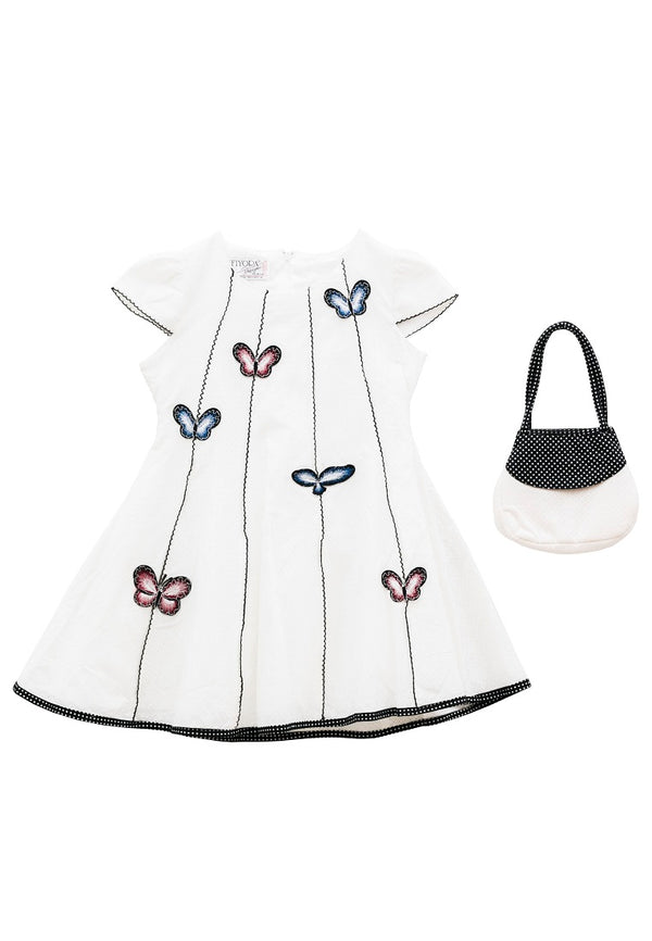 Butterfly Sky Cotton Dress