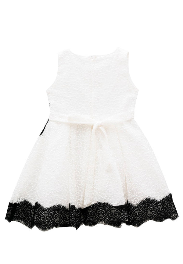 Lace Twirl Party Dress