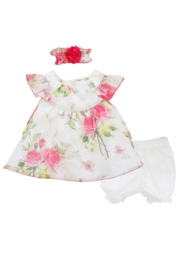 Chloe Floral Baby Dress
